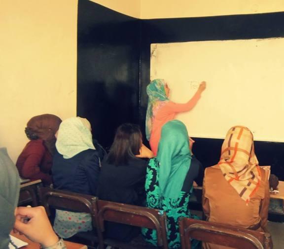 Sondos teaching